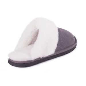 LADIES SHEEPSKIN OIL SCUFF