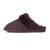 Ladies Sheepskin Scuff Chocolate - instep