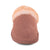 Ladies Sheepskin Scuff Chestnut - front