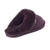 Ladies Sheepskin Scuff Chocolate - back