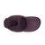 Ladies Sheepskin Scuff Chocolate - top