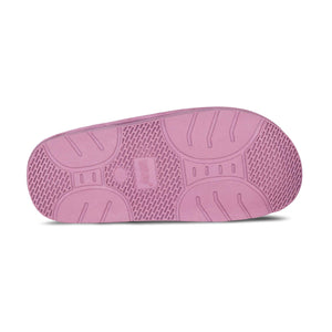 Ladies Sheepskin Scuff Pink - sole