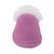 Ladies Sheepskin Scuff Pink - front