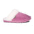 Ladies Sheepskin Scuff Pink - side