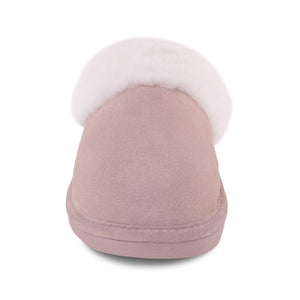 Ladies Sheepskin Scuff Sand - front