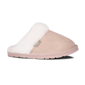 Ladies Sheepskin Scuff Sand - side