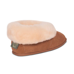 LADIES SHEEPSKIN SOFT SOLE BOOTIE