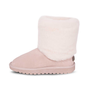 LADIES POM POM SHEEPSKIN BOOTS