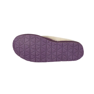 LADIES PURPLE SCUFF