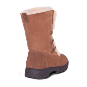 Ladies Rosalia Sheepskin Boot - back