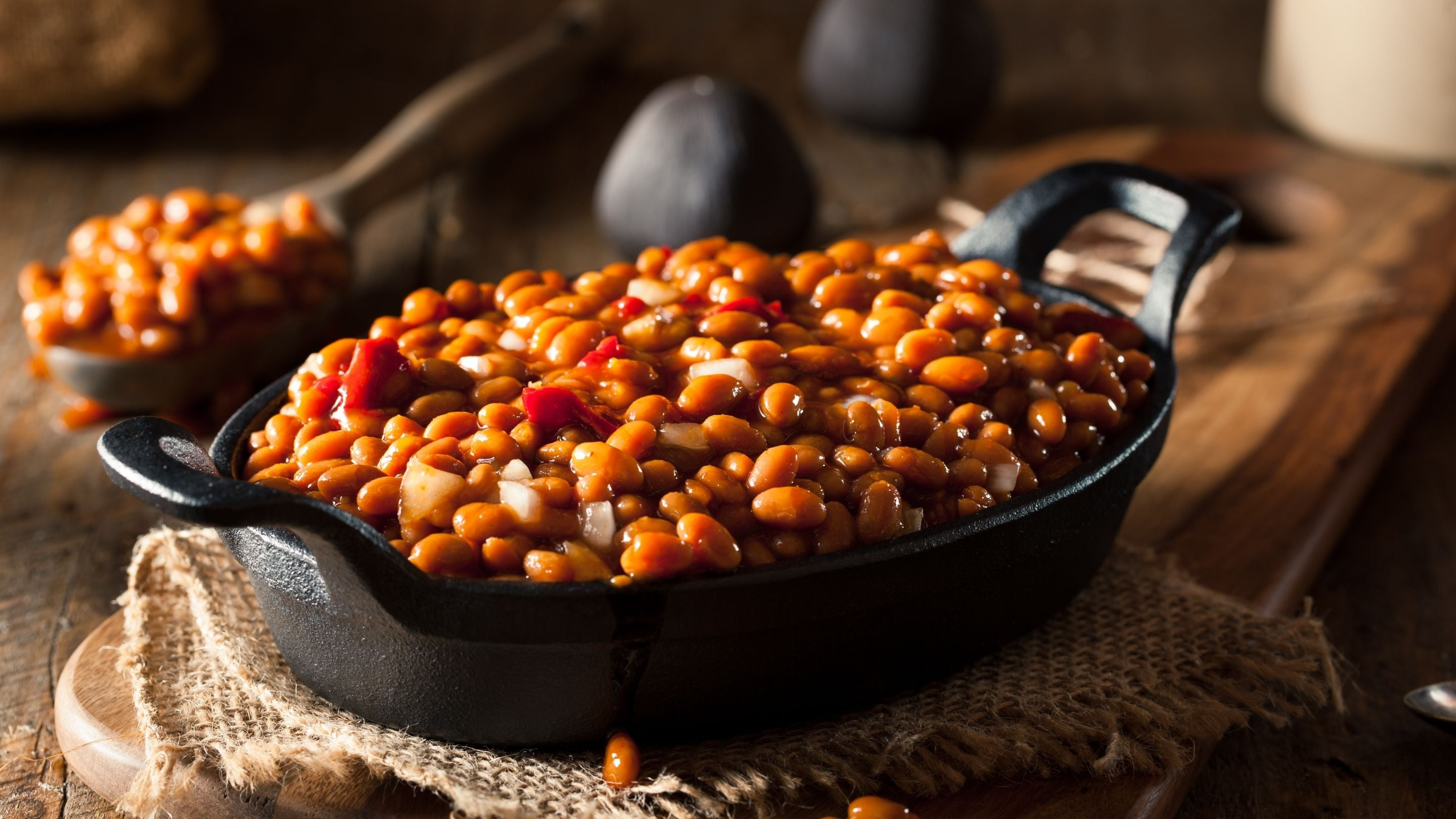 Homestyle baked beans