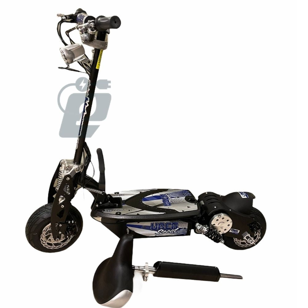uberscoot 1000w electric scooter with seat
