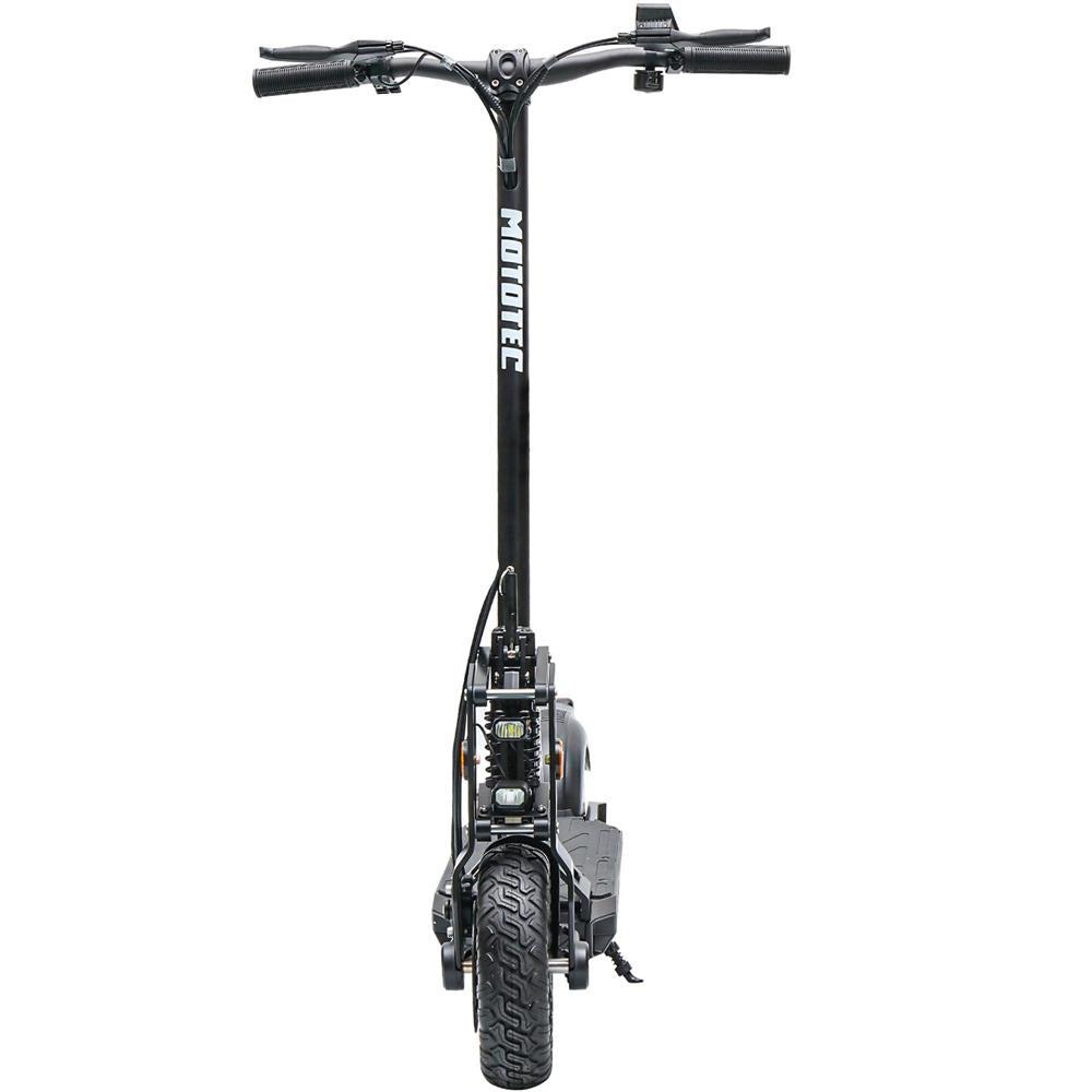MotoTec Free Ride 600w 48v Lithium Electric Scooter front angle