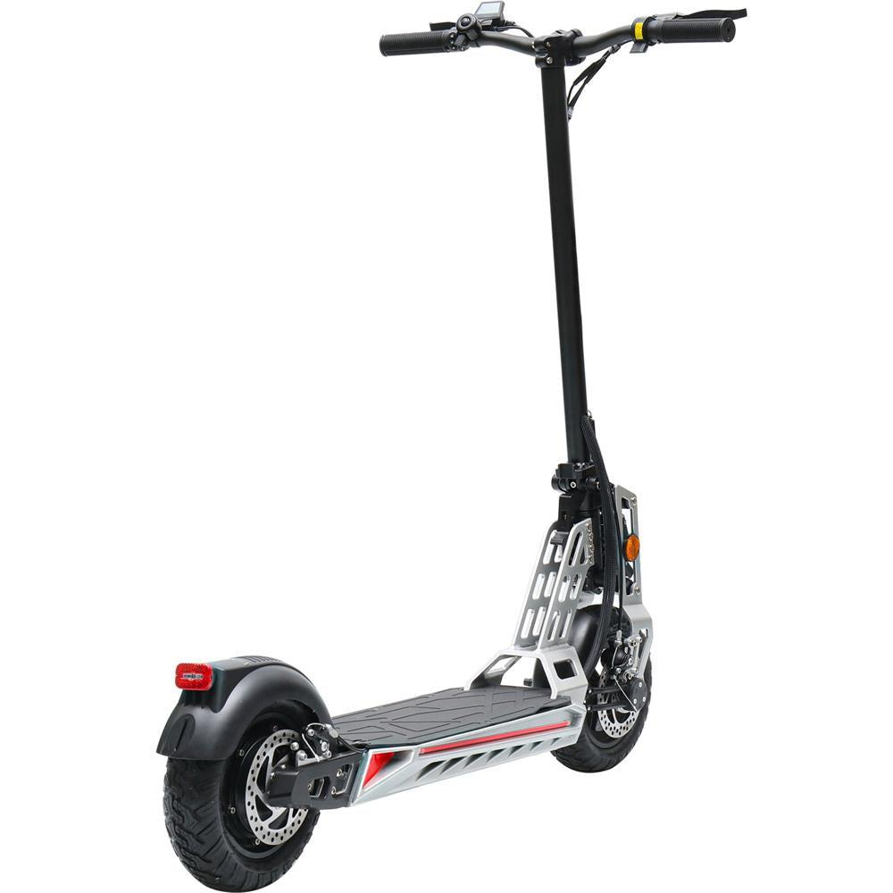 MotoTec Free Ride 600w 48v Lithium Electric Scooter white color