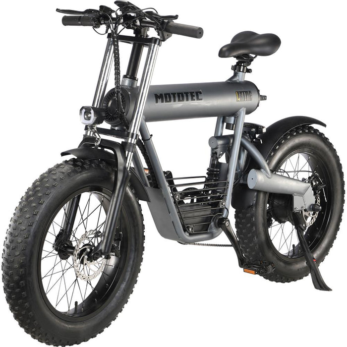 MotoTec Roadster 500w 48v Lithium Electric Bicycle