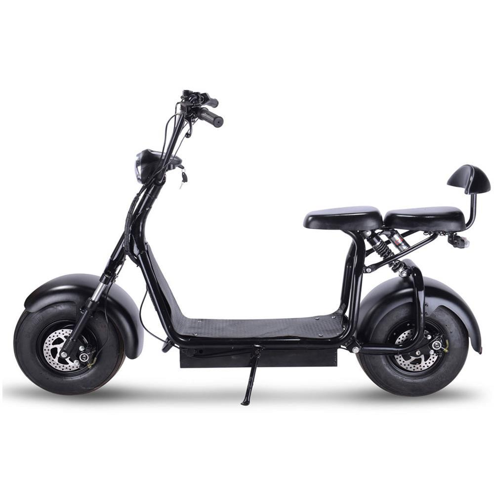 fat tire electric scooter knockout