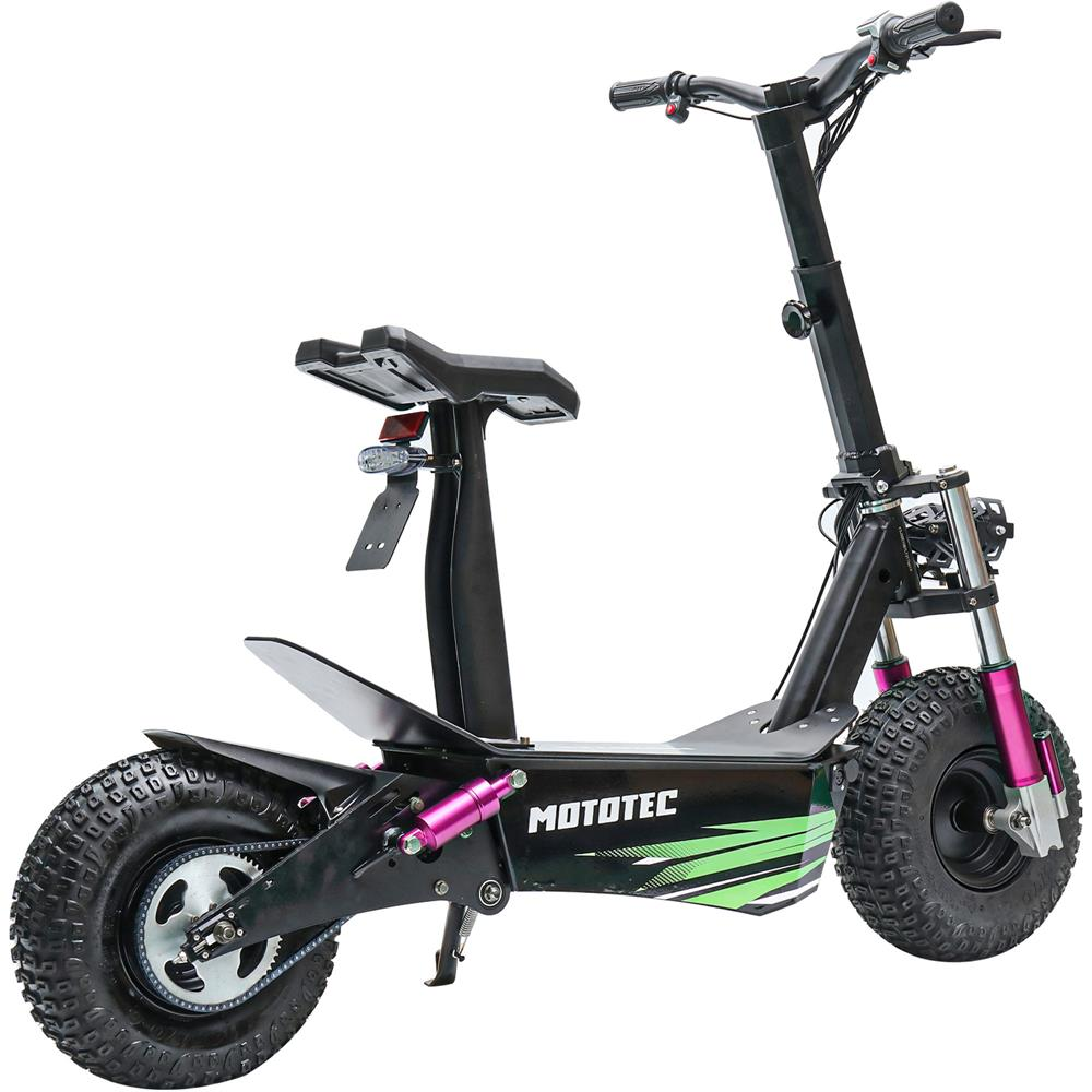 MotoTec Mars 2500w 60v Lithium Electric Scooter