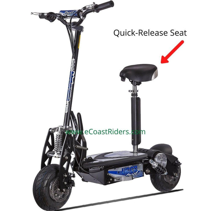 UberScoot 1000w Foldable Electric Scooter w/ Quick Release Seat