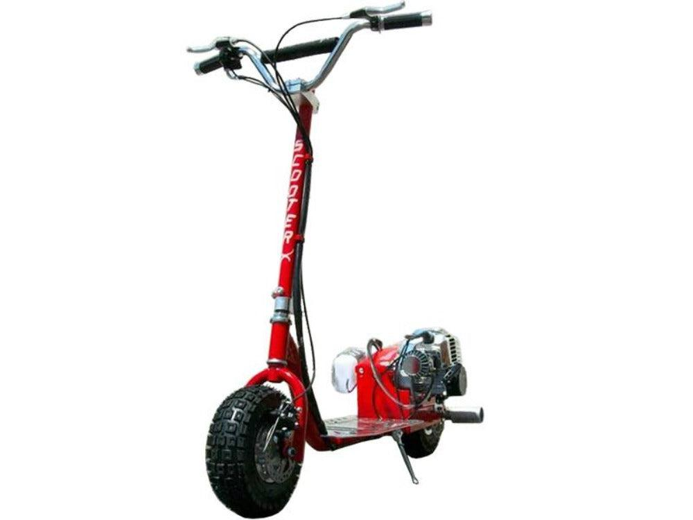 gas scooter red scooterX