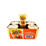 OTTOGI Snack Ramen, 1 Case (6 cups), 13.14oz