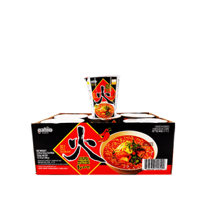 Paldo Hwa Hot & Spicy 1 Case (6 cups) 13.74oz