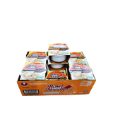 Nongshim Bowl Noodle Soup, Chicken, 1 Case (12 cups), 36.36oz