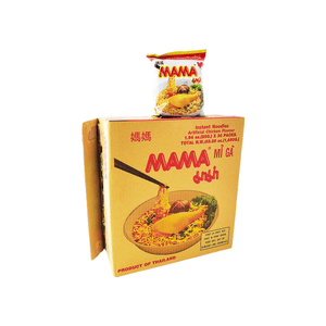 Mama Oriental Style Instant Noodles Artificial Chicken Flavor 1 Case (30 packs) 58.2oz
