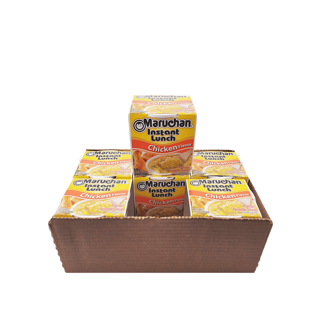 Maruchan Ramen Chicken Flavor 1 Case (6 cups) 13.5oz