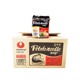 Nongshim Potato Noodle Soup 1 Case (12 family packs) 10.58Lbs