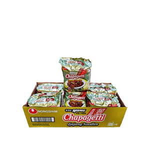 Nongshim Chapagetti, 1 Case (6 family packs), 6.72Lbs