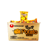 Nongshim Potato Snack Small Size 1 Case (20 bags) 38.6oz