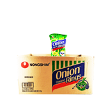 Nongshim Onion Flavored Rings Small Size 1 Case (20 bags) 63.49oz