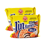 Ottogi Jin Ramen Mild Single pack Twins 8.46oz