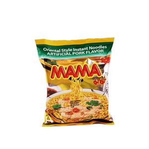 Mama Oriental Style Instant Noodles Artificial Pork Flavor 1 Case (30 packs) 63.6oz
