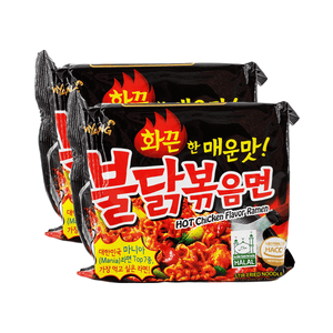 Samyang Buldak Hot Chicken Flavor Ramen Single pack Twins 9.88oz