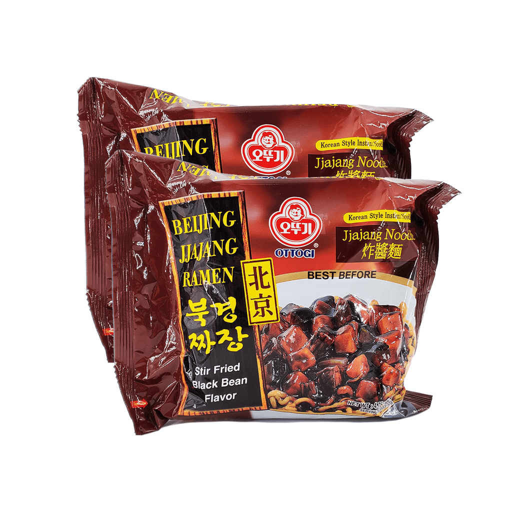 Ottogi Beijing Jjajang Ramen Single pack Twins 9.52oz