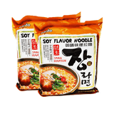 Paldo Soy Flavor Noodle Single pack Twins 8.46oz
