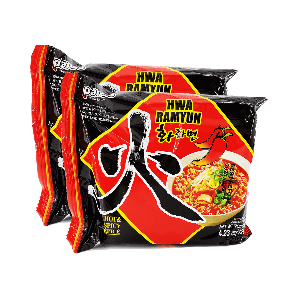 Paldo Hwa Ramyun Hot & Spicy Single pack Twins 8.46oz