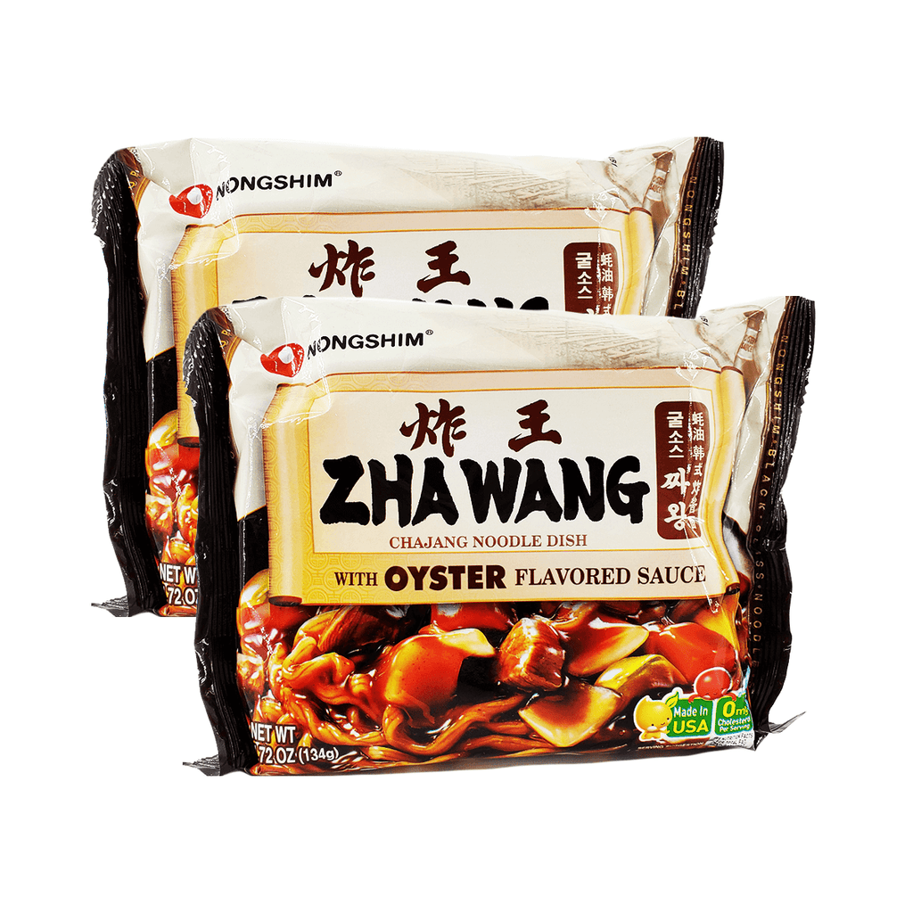 Nongshim Zhawang with Oyster Flavored Sauce Single pack Twins 9.44oz