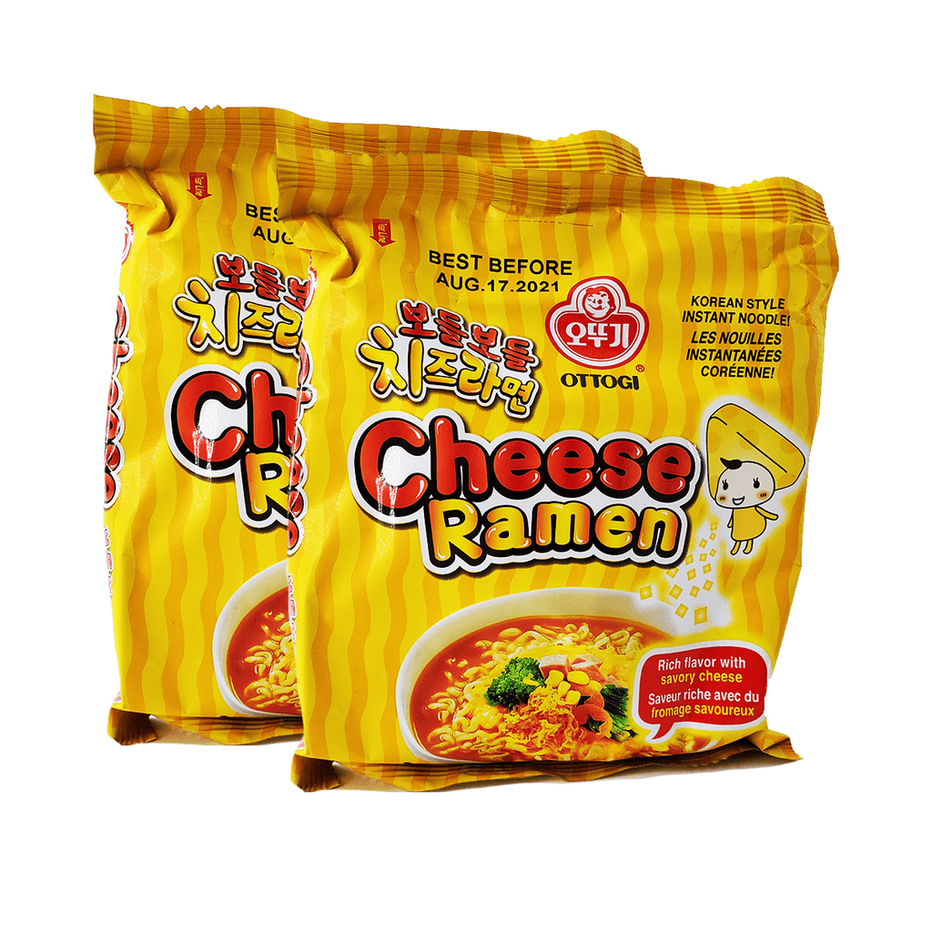 Ottogi Cheese Ramen Single pack Twins 7.82oz