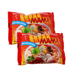 Mama Oriental Style FLAT Noodles TOM YUM Single pack Twins 3.52oz