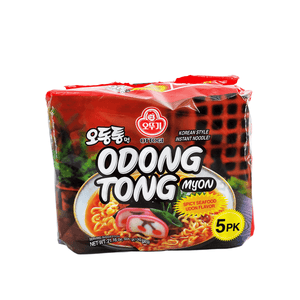 Ottogi OdongTong Seafood Spicy Family pack (5 single packs) 21.16oz