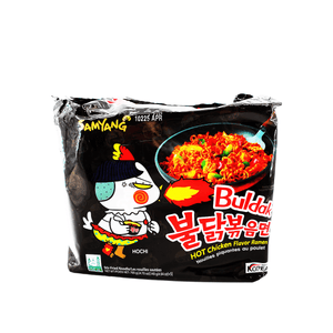 Samyang Buldak Hot Chicken Flavor Ramen Family pack 24.7oz