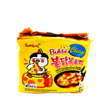 Samyang Cheese Buldak Hot Chicken Flavor Ramen Family pack 24.69oz