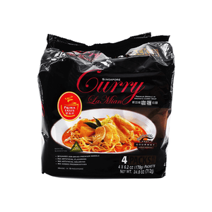 Singapore Prima Food Curry La Mian, Family Pack 24.8oz