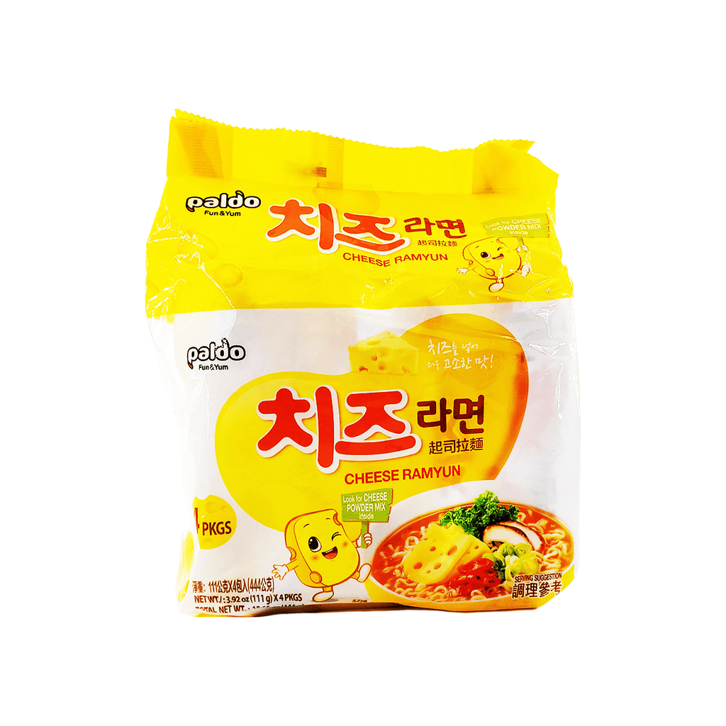 Paldo Cheese Ramyun Family pack 15.66oz