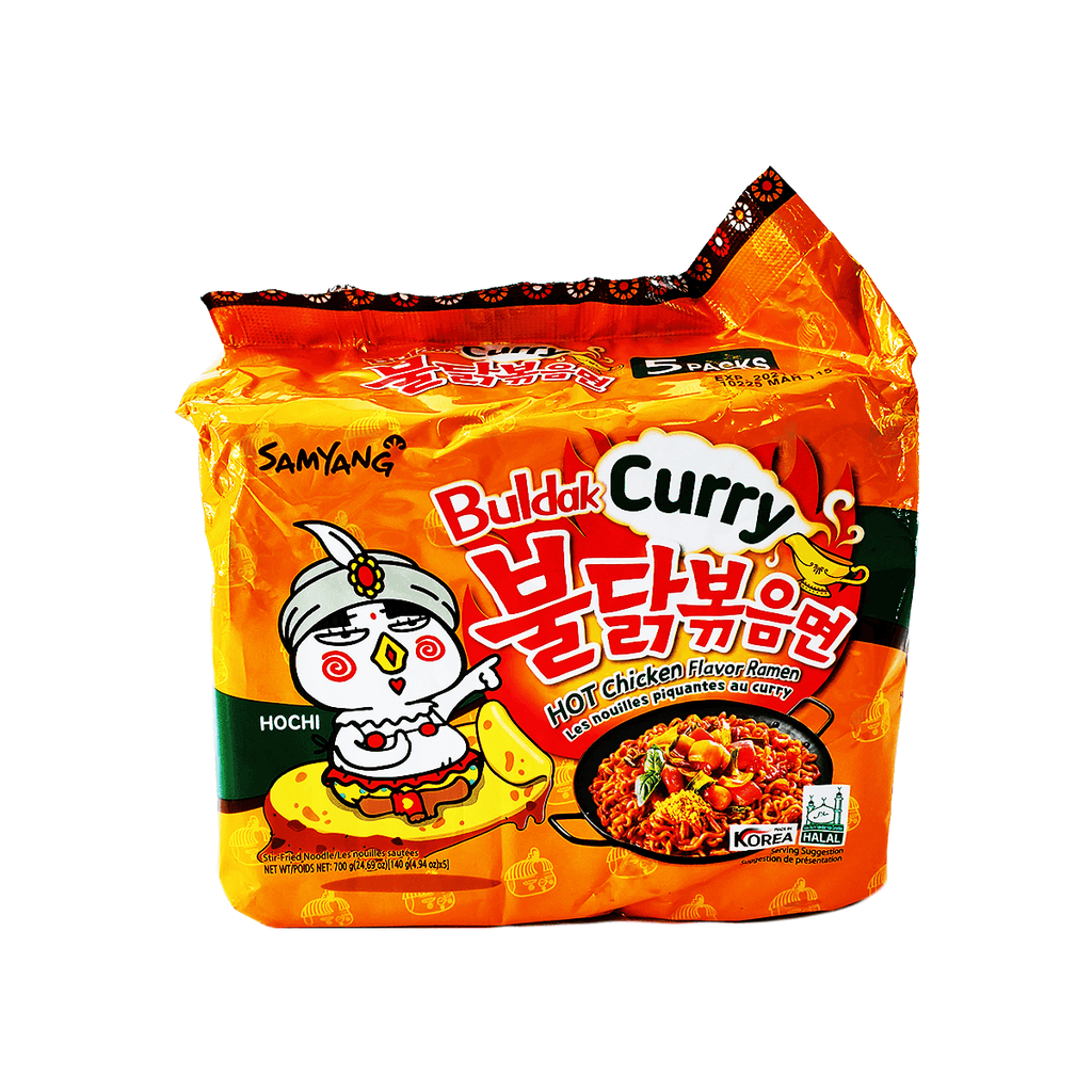 Samyang Buldak Curry Hot Chicken Family pack 24.69oz