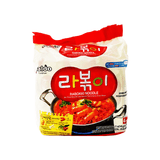 Paldo Rabokki Noodle Family pack 1 Case (4 family packs ) 81.8oz
