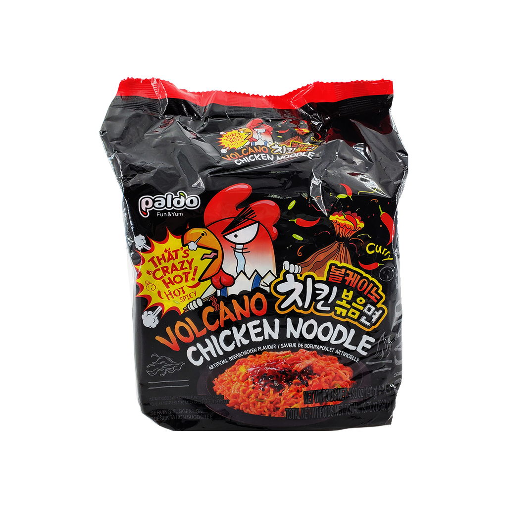 Paldo Volcano Chicken Noodle Family pack 19.72oz
