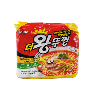 Paldo Jumbo pack Noodles Family pack 21.15oz